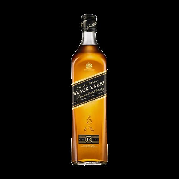 Johnnie Walker Black Label Blended Scotch Whisky 75cl